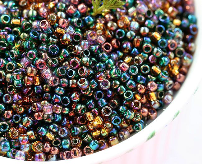 Prism, MayaHoney Special Mix, 8/0 Toho Seed Beads 10g - MayaHoneyBead