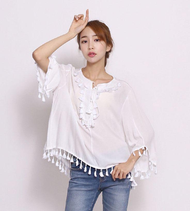 8836 Millie Women's Long Sleeve Lovely Furbelow Top/Blouse, One Size, 3 options…