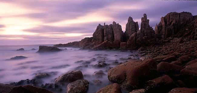The Pinnacles, Cape Woolamai, just south of Melbourne. Sunrise trek
