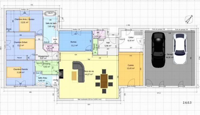 Plan De Maison Maison Fonctionnelle Faire 14