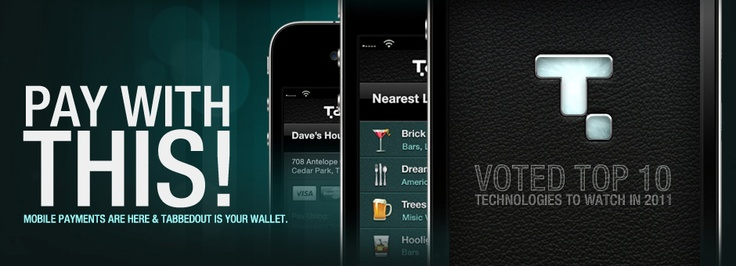 Very, very clever! Control your bar & restaurant Tab with your phone. No more waiting for the bill.....like a lot