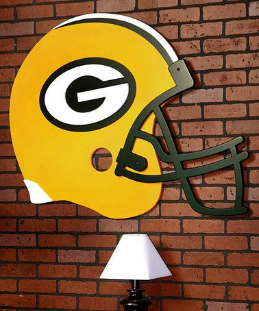 Take a look at this Green Bay Packers Helmet Wall Art by Fan Creations on #zulily today!