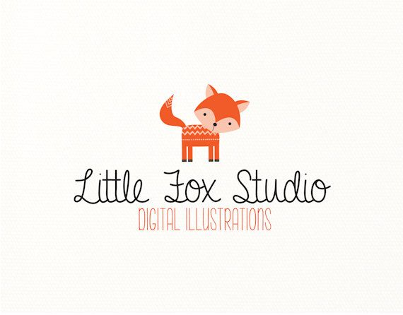 fox logo premade kids woodland nature animals - Logo Design #414