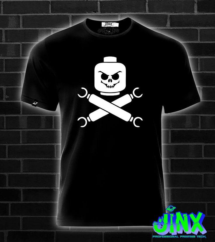 $179.00 Playera o Camiseta Lego Pirata - Comprar en Jinx