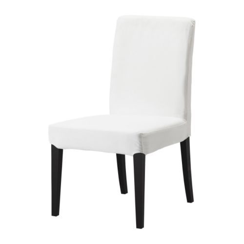 HENRIKSDAL Chair IKEA Seat filled with polyester wadding and high back for  enhanced seating comfort 20 best Dining room chairs images on Pinterest   Dining chairs  . High Back Dining Chairs Ikea. Home Design Ideas