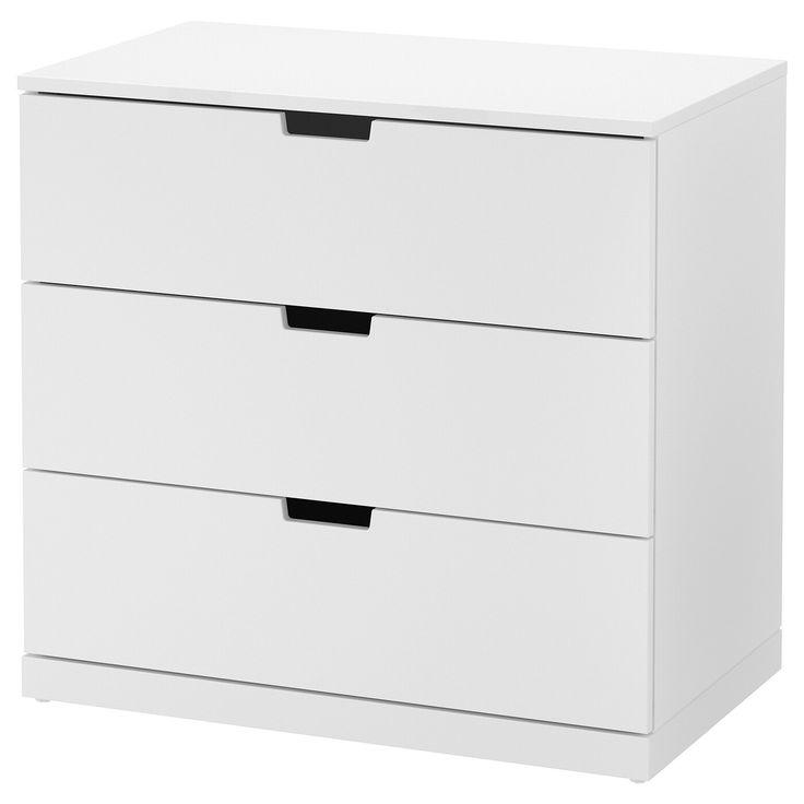 Ikea Nordli Kommode 3 Schubladen