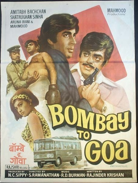 Bombay to Goa (1972) - Best Bollywood roadtrip movies