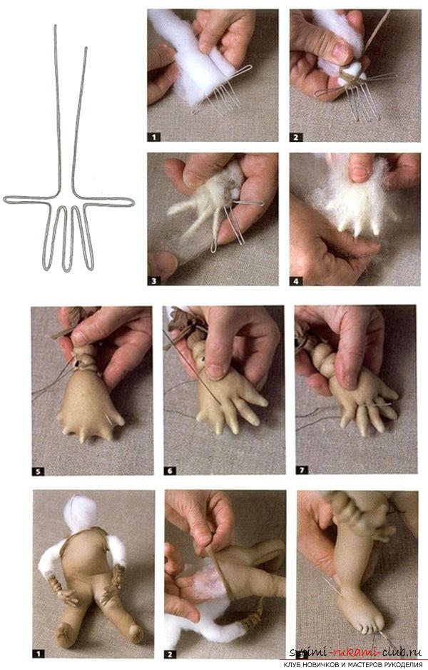 Как создавать поразительной красоты куклы из капрона своими руками