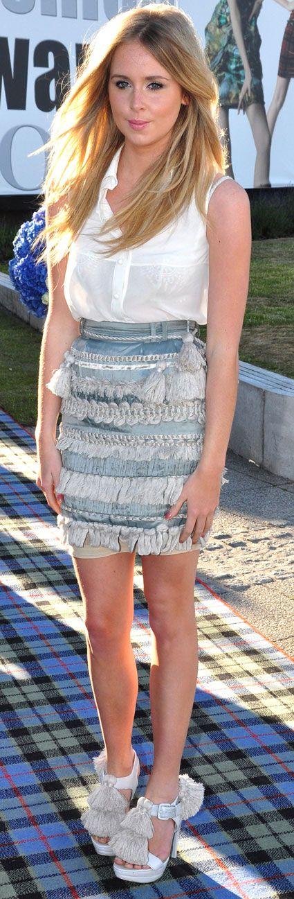 Diana Vickers's fashion style