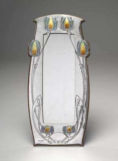 Art Nouveau Mirror by Archibald Knox 1902