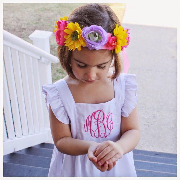Easy DIY Flower Crowns