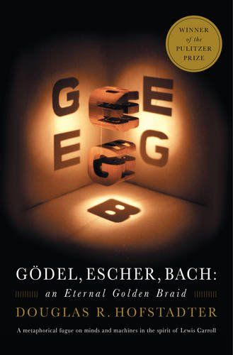 Gödel, Escher, Bach: An Eternal Golden Braid by Douglas R. Hofstadter http://smile.amazon.com/dp/0465026567/ref=cm_sw_r_pi_dp_a2uQwb1274KXB