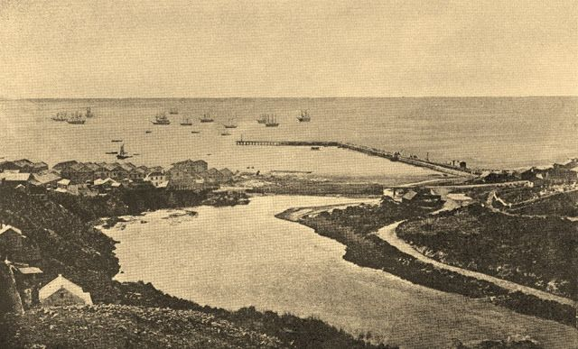 Port Elizabeth Daily Photo: Then and Now - Lower Baakens Valley