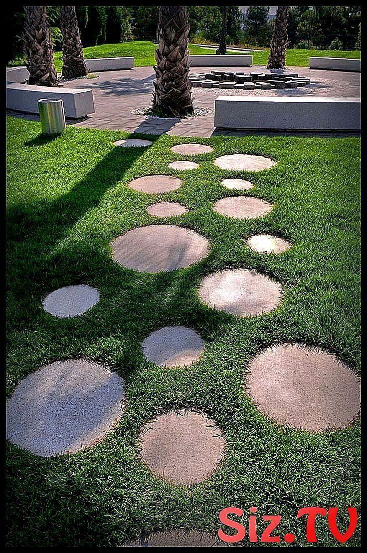 Stepping Stones Cheap Diy Garden Path Ideas