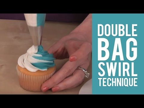 Learn How To Pipe 3-Color Icing Swirls | NEW 3-Color Coupler Tutorial - YouTube