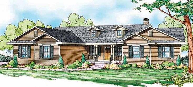 34 best houseplans images on pinterest architecture for Family home plans 82230