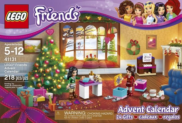8 Toy Advent Calendars for the Holiday Countdown: LEGO Friends Toy Advent Calendar