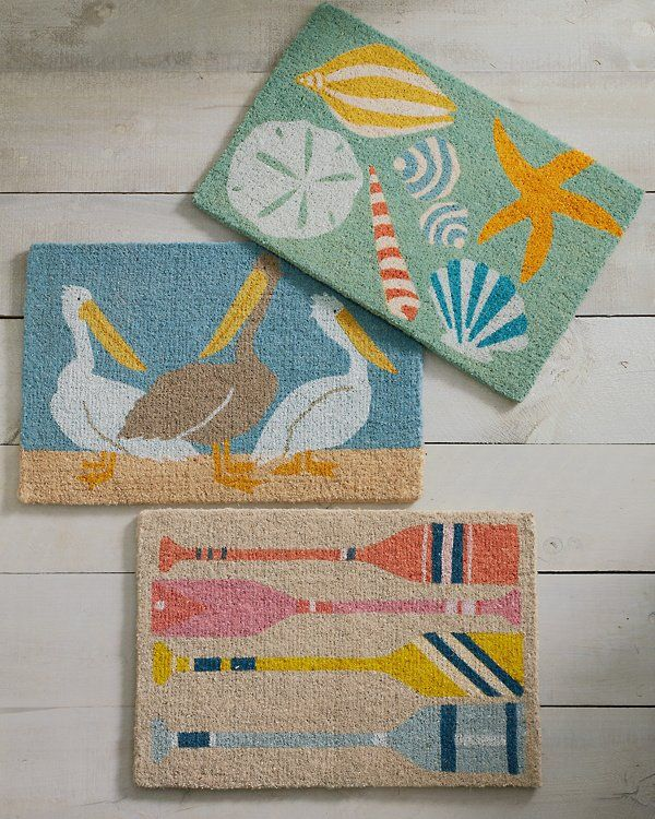 Brighten Your Doorstep With Hable Contruction S Vibrant Doormat Designs Handmade From The Natural Fibers Of Coconut Husks Also Known A Door Mat Wool Rug Rugs