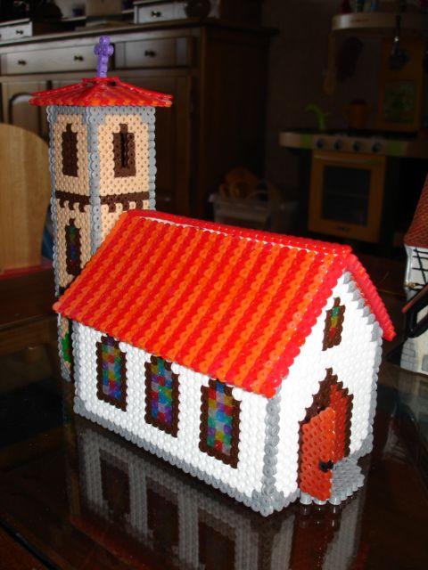 3D Church perler beads by Hendrik D. - Perler® | Gallery