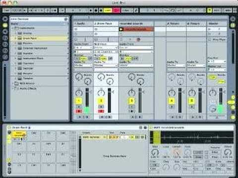 Ableton Live Tutorial - Found Sound Drum Kit (part 1)