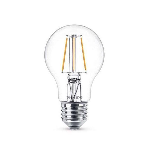 Bec LED Philips 4W E27 A60 470LM lumina calda http://www.etbm.ro/becuri-led