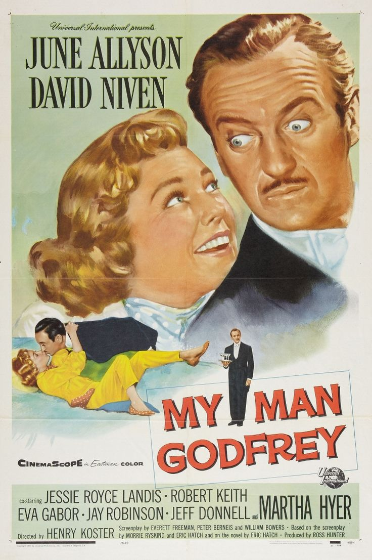 My Man Godfrey, 1957--I've seen the original but never this one!