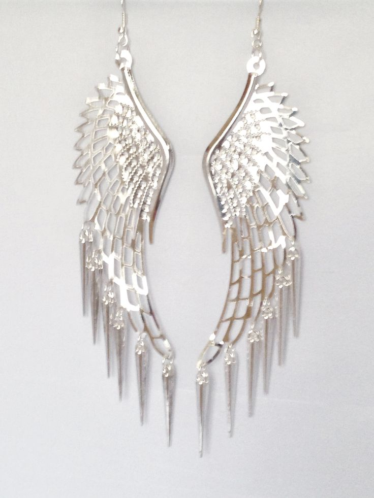 Large Wing Earrings, £3.99 Christmas gift ideas + FREE UK shipping on all orders! Check out Christabel Jewellery today!