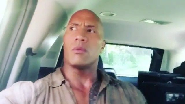 #TheRock getting clowned on for driving again by #KevinHart and the rest of the #Jumanji cast!  @TheRock #WSHH