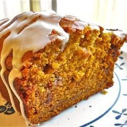 "Pumpkin Bread I I ""A very moist and nice quick bread, especially considering it's much lower in fat than most recipes."""