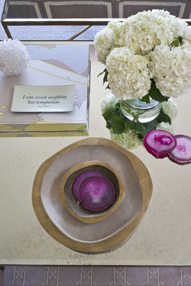 coffee table styling // Massucco Warner Miller #interiordesign #styling