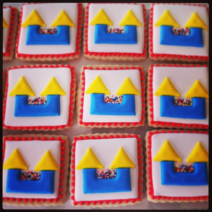 Bounce House cookies by Tiffany