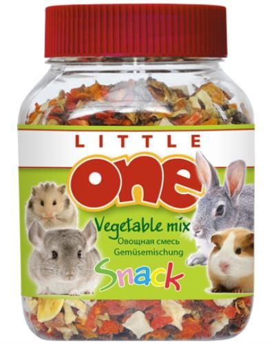 Little One овощная смесь. Лакомство для всех видов грызунов банка 150 гр