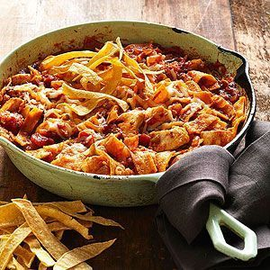 Its hard to believe a chicken recipe thats this hearty, saucy, and delicious can also classify as a healthy recipe, too. Take a lookits only 312 calories per serving.