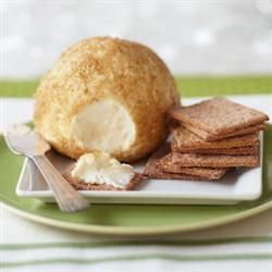 Key Lime Pie Cheeseball Recipe:1/4 cup butter,  8 oz cream cheese,  small box lime jello,  3 T lime zest