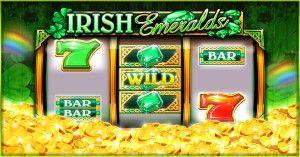 Irish Emeralds slot machine at House of Fun