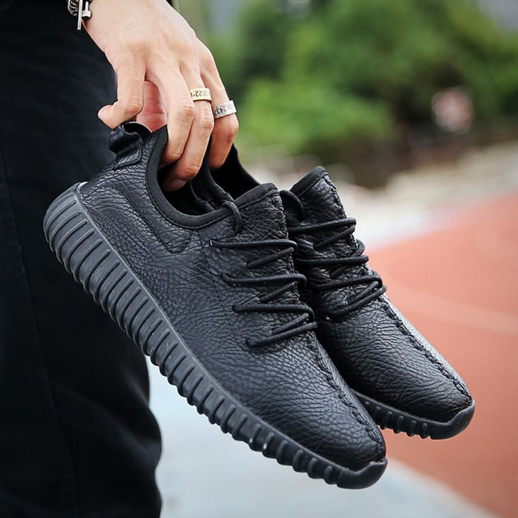 2016 Nueva marca de moda 350 Hombres y Mujeres Zapatos Cómodos Causales zapatos Planos de Los Hombres zapatos hombre mujer zapatos de cuero de LA PU tamaño 35 ~ 45 en   de   en AliExpress.com   Alibaba Group