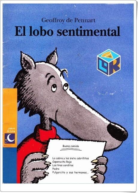 """""""El lobo sentimental"""" de Geoffroy de Pennart (Cuentos en Power Point)"""