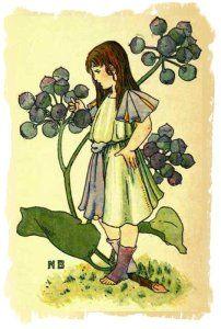 Ivy Girl by Nellie Benson 1901