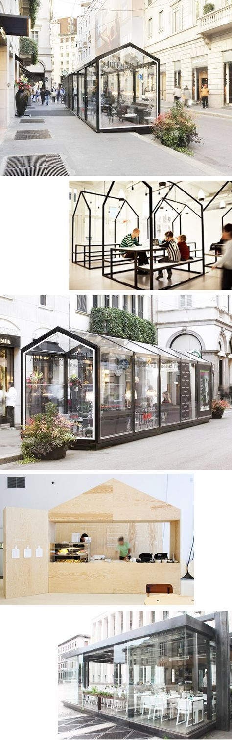 modular restaurant by MODUS-VIVENDI (Spain?)