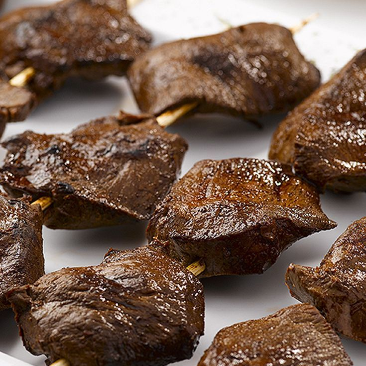 Anticuchos Recipe. Find more Peruvian recipes at http://www.perualacarte.com
