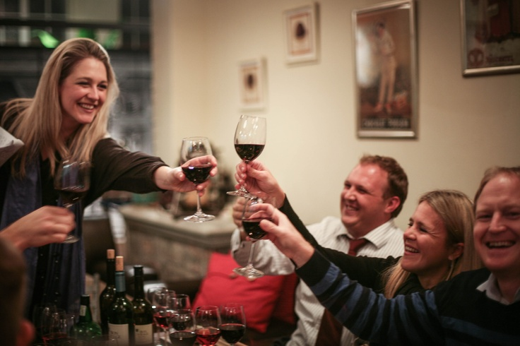 Celebration of good food and great wine and awesome friends with www.come-winewithus.com