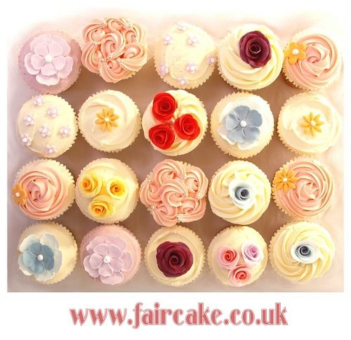 Wedding Cupcakes  by Fair Cake, via Flickr
