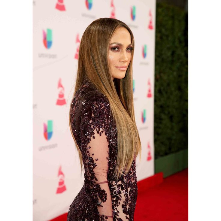 J. Lo rocked the waist-length hair look at the 2016 Latin Grammy's, making sure it shined as beautifully as her always-perfect complexion.