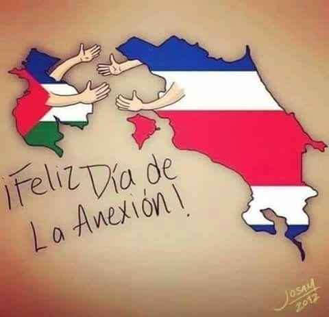 Anexión del Partido de Nicoya...Costa Rica
