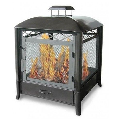 Backyard-Fire-Pit-Patio-Fireplace-Landmann-Firepits-Black-Metal-Aspen-Furniture