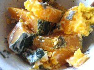かぼちゃ海苔サラダ