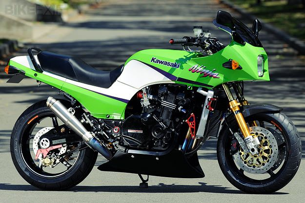 Kawasaki GPz900R - retro custom by AC Sanctuary