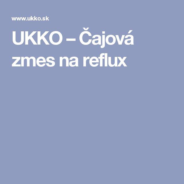 UKKO – Čajová zmes na reflux