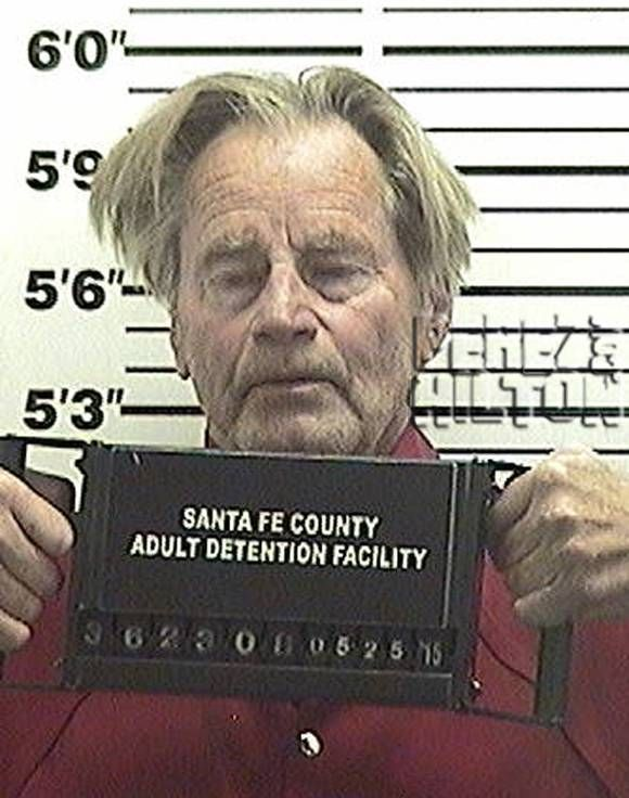 'Bloodline' star Sam Shepard was arrested for a DUI in Santa Fe, New Mexico.