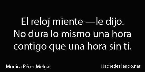 #MónicaPérezMelgar #HacheDeSilencio